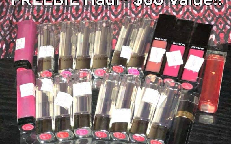 Stacey Scored $60 of FREE REVLON LIPSTICKS! You Can Too- thru 3/25!