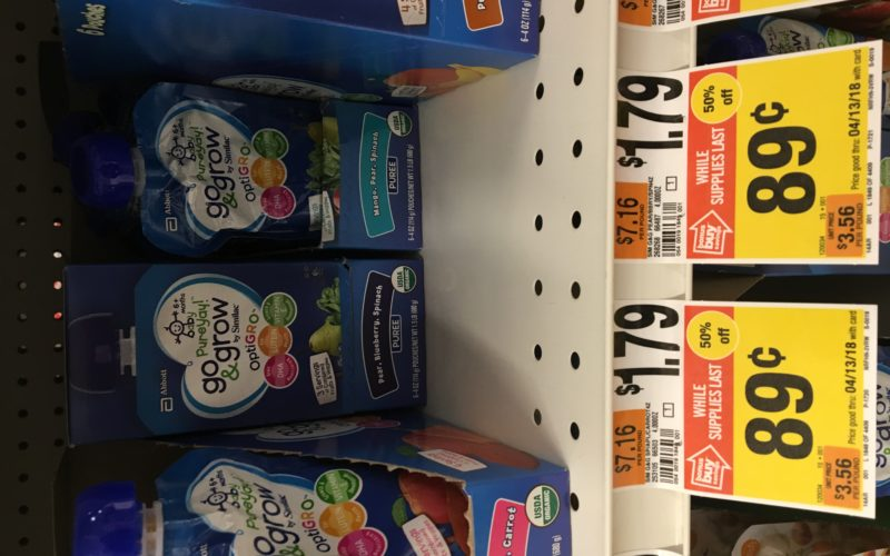 50% off Similac baby food pouches!!! RUN!!