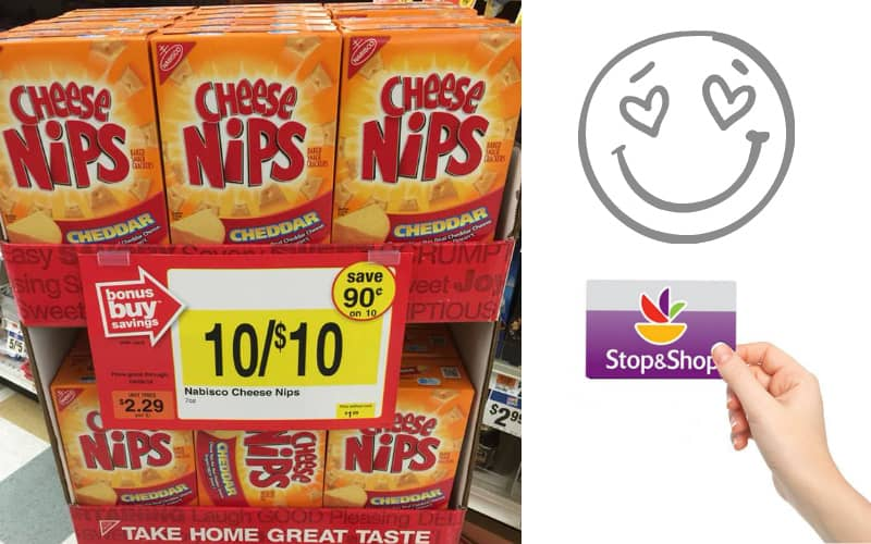 Cheese Nips Only $1 at Stop & Shop