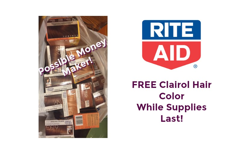 FREE Clairol Hair Color at Rite Aid ~ While Supplies Last!