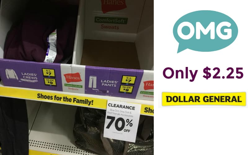 Possible 70% Off Clearance Clothes & Shoes at Dollar General