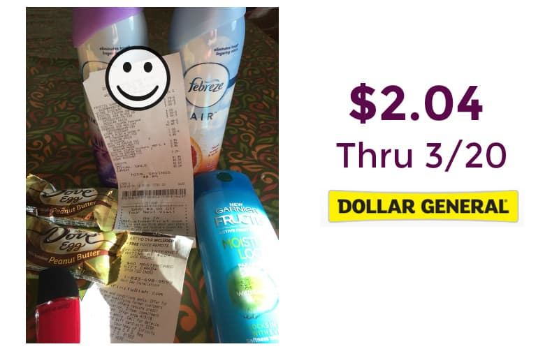 Kitty's Dollar General Trip! $2.04 for 6 Items!