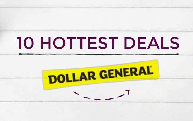 Top 10 Deals Including 8 Free Items at Dollar General!
