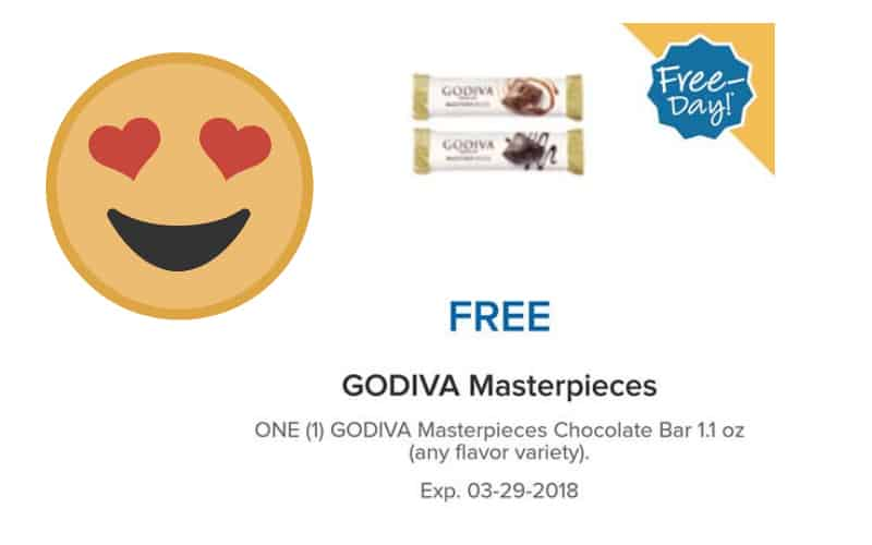 FREE DAY! Get Your FREE Godiva Chocolate!