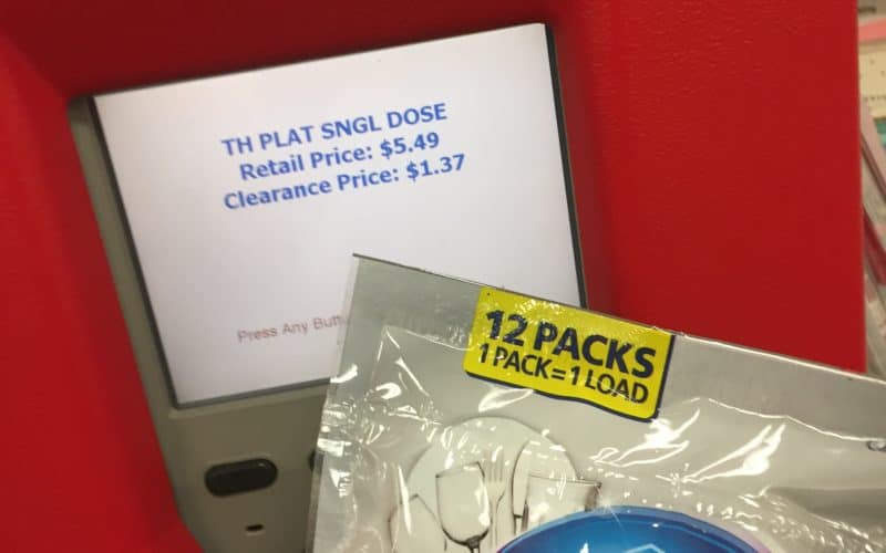 HOT Clearance Deal on Dish Washer Detergent