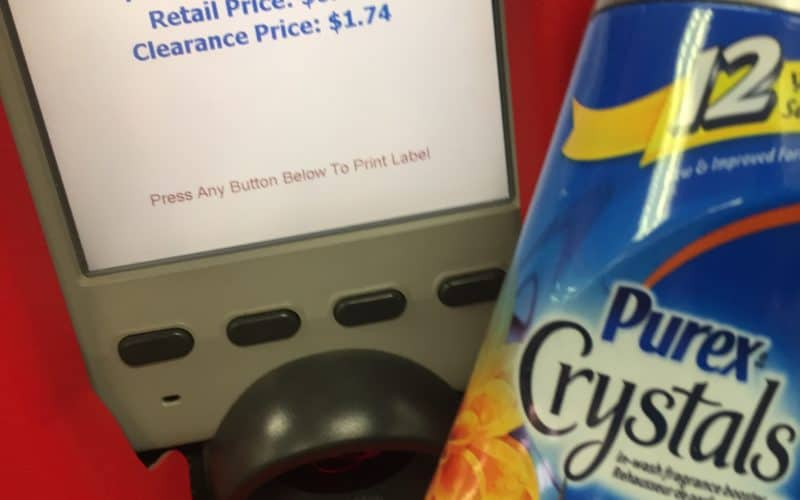 WHOA! Only $1.24 for Purex Crystals