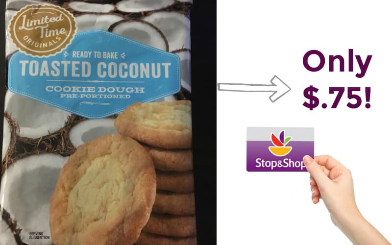 Toasted Coconut Cookie Dough Only $.75!
