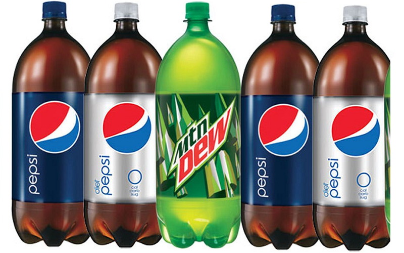Pepsi or Mt. Dew 2 Liters Only $.66!