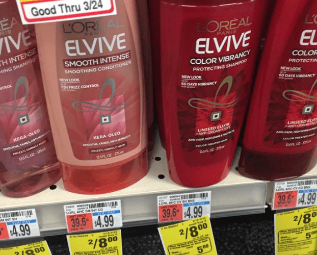 75 Cents for Elvive at CVS