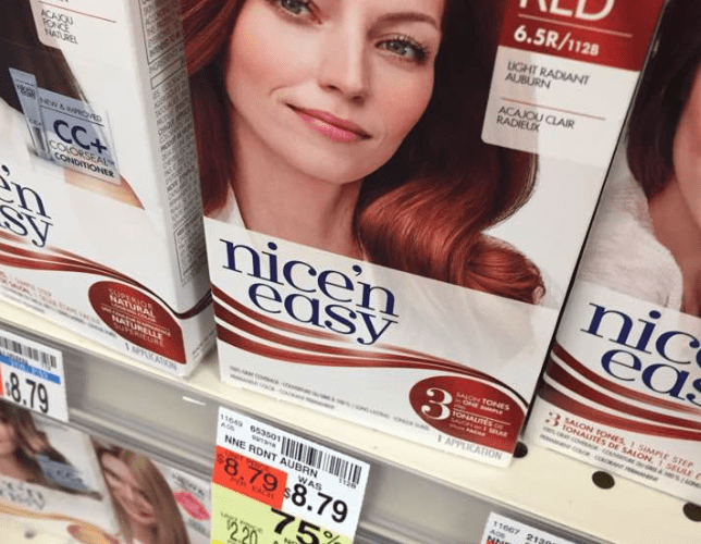 FREE Clairol Nice and Easy Hair Color at CVS!