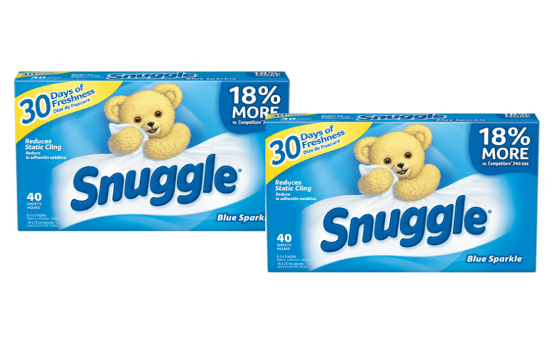 Stock Up Price! Snuggle Dryer Sheets Only $.62!