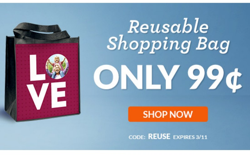 Reusable Shopping Bag Only $.99!