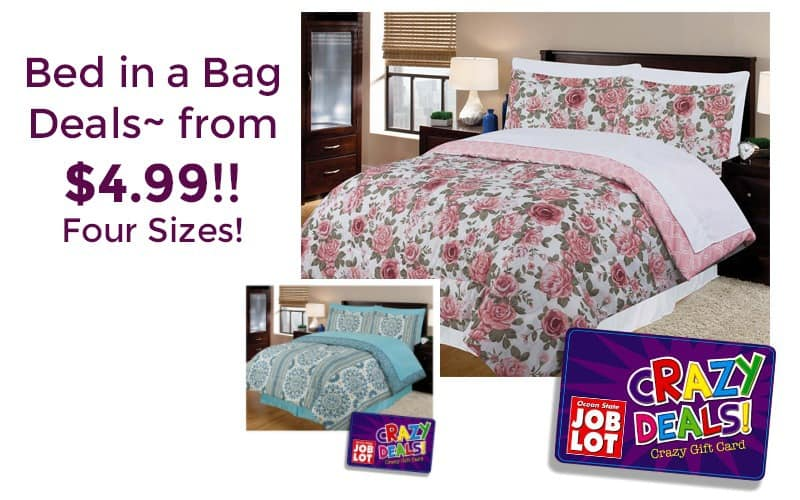 Cozy Up with a Bed in a Bag~ AS LOW AS $5!!!