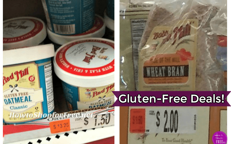 Bob's Gluten-Free Goodies, starting at 50 CENTS!!