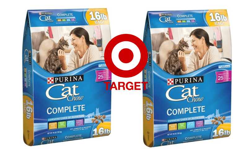 MEOW! Cat Chow Only 52¢/lb. at Target!