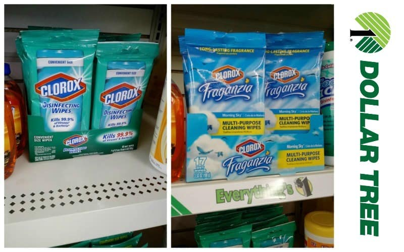 50¢ for Clorox Wipes!! Squeaky Clean Deal!!