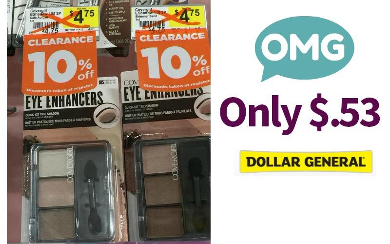 OMG! Covergirl Eye Enhancers 3 Pack Only $.53!