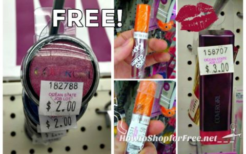 graphic about Ocean State Job Lot Coupons Printable identified as Absolutely free Make-up! WHOOP How toward Retail outlet For Cost-free with Kathy Spencer