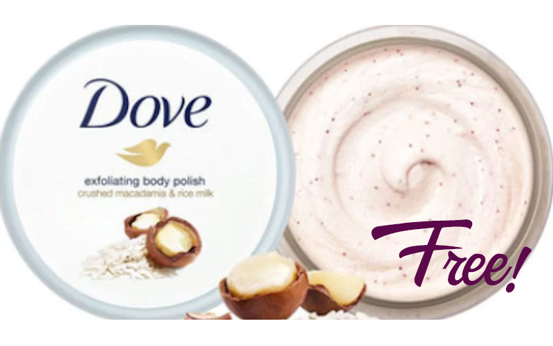 FREE Dove Exfoliating Body Polish with Checkout 51!