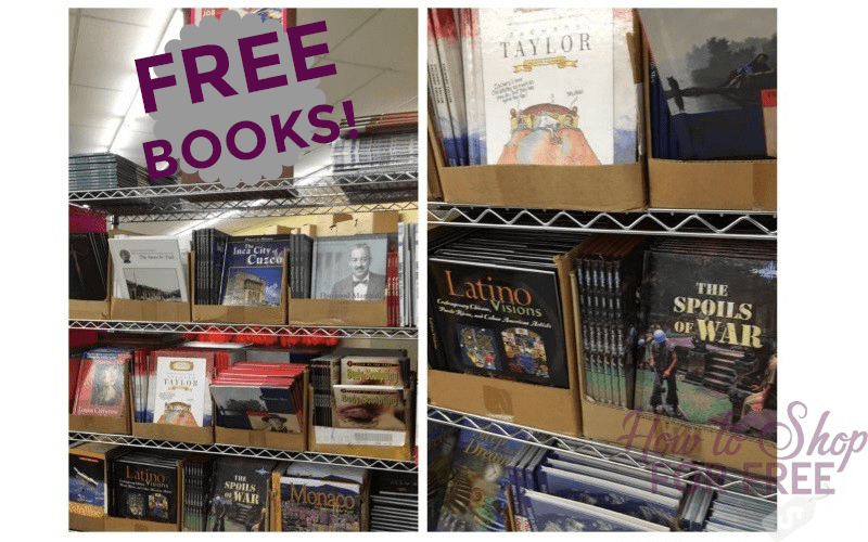 FREE BOOKS this week from Job Lot!!