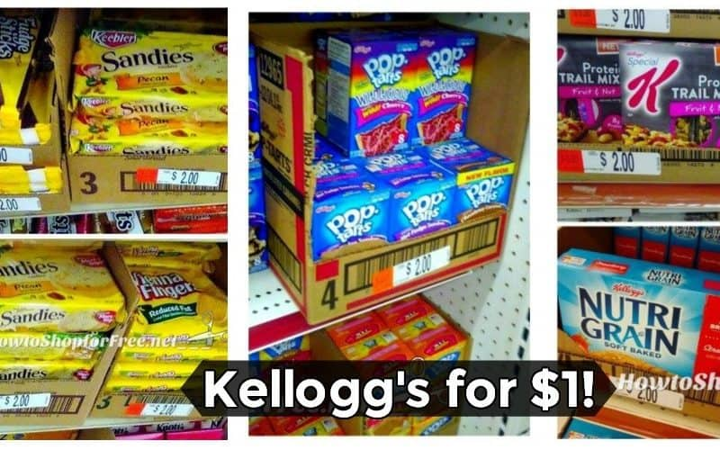 Grab ANY of Your Kellogg's Favorites for A BUCK!!!