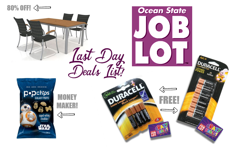 Last Call OSJL List (3/7) MM PopChips, FREE Duracell & More!