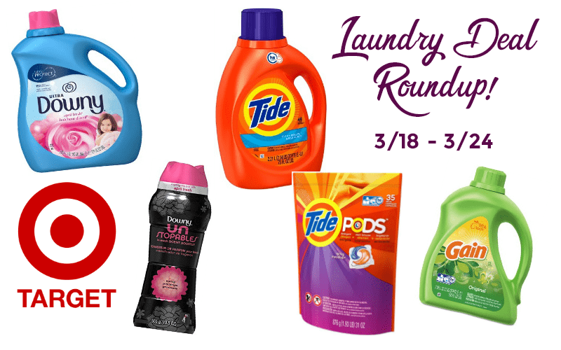 Attention Target Shoppers.. LAUNDRY DEALS, OH MY! (3/18-24)