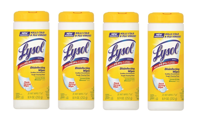 GREAT price for Lysol wipes!