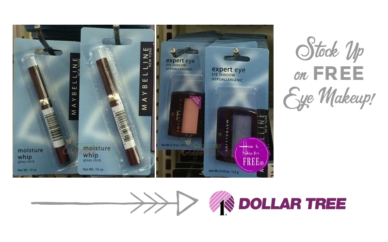 MORE *FREE* Makeup at Dollar Tree~ Maybelline Goodies!!
