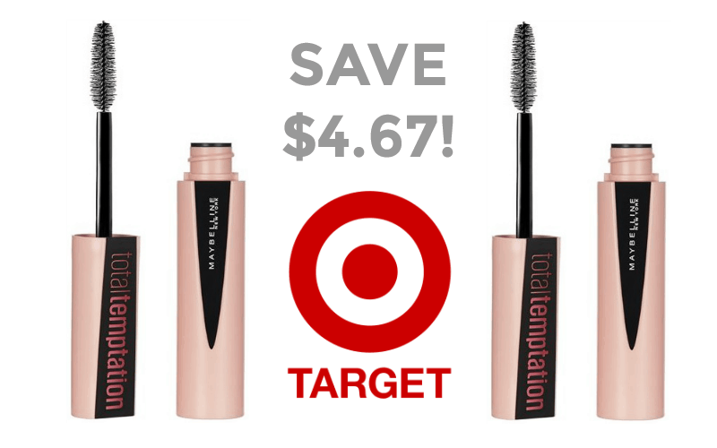Maybelline Total Temptation Mascara OVER 50% OFF!