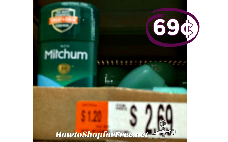 Mitchum ONLY 69¢ ~ This Deal is So Fresh & So Clean!