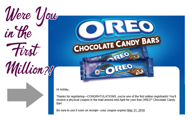 I GOT A FREE OREO BAR~ Were You in the First Million?!
