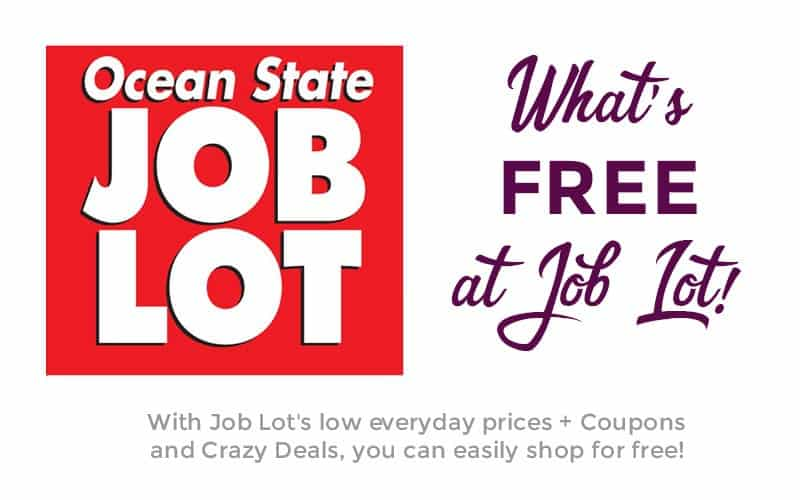 10 HOT FREEBIES from Ocean State Job Lot! (4/19-25)
