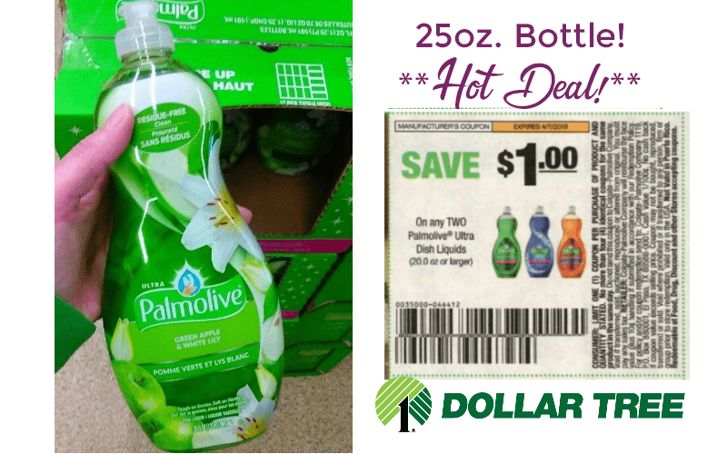 50¢ Palmolive Ultra (25oz) Squeaky Clean Steal!