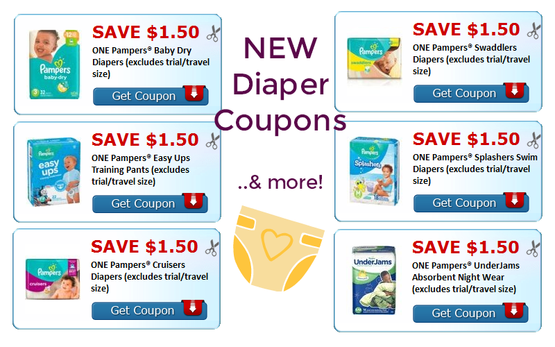 Pampers Parents~ $9 in NEW Printables!! (& MORE!)
