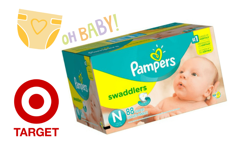 Pampers Super Packs only $17 at Target!! (3/18-24)