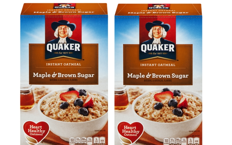 $1.38 Quaker Instant Oatmeal Multipacks at S&S! (3/2-8)