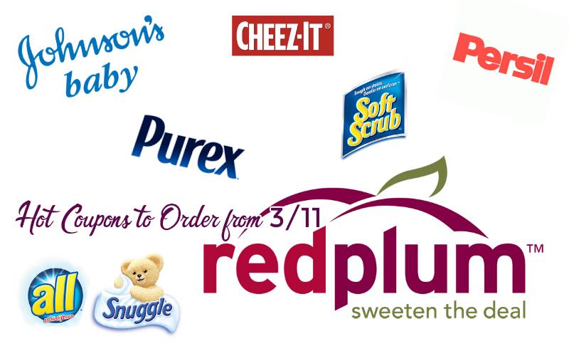 HOT Coupons You Should Order from the 3/11 RedPlum!