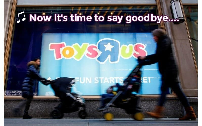 Sad But True.. NO ToysRus or BabiesRus is Safe! ALL CLOSING!