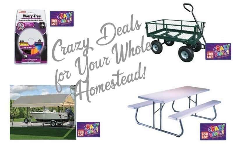 Crazy Deals for your WHOLE Homestead~ 4/26-5/2
