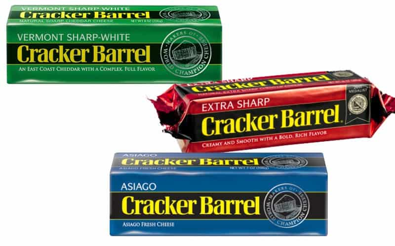 Cracker Barrel Cheese Only $1.50!
