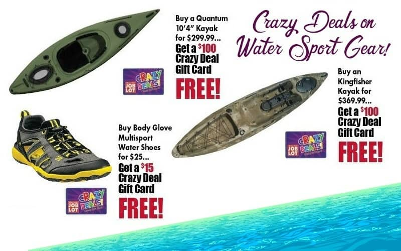 Who's Ready for Water Sports?! Job Lot has your deals on Gear!