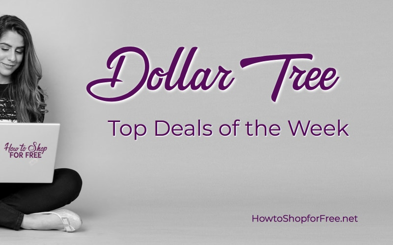 TOP Deals at Dollar Tree, through 8/8!
