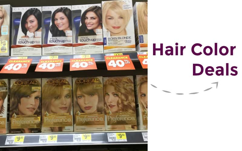 Get a Dye Job! Great Low Prices On Hair Color!
