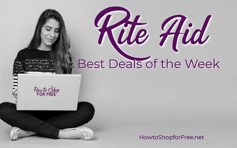 Best Deals of the Week at Rite Aid Starting Sunday 04/29!!