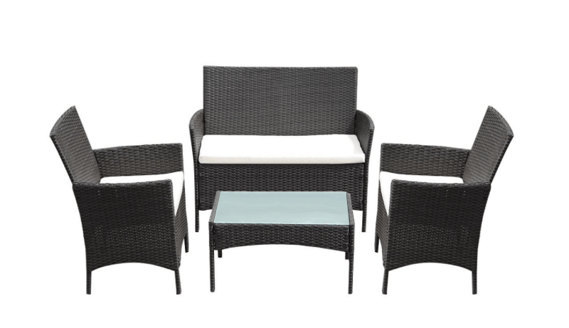 Wicked Wicker Deal $144 4-pc Delivered Price – Rakuten
