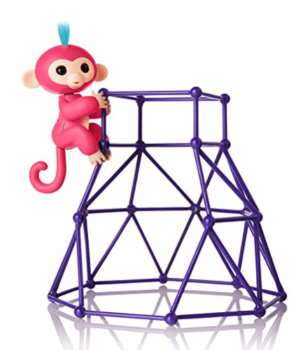 50% Off   Fingerlings – Jungle Gym Playset + Interactive Baby Monkey