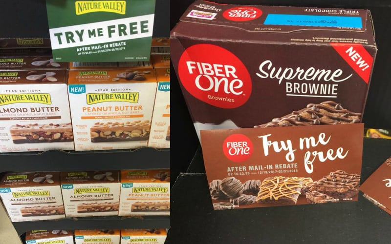 FREE Nature Valley Granola Bars AND Fiber One Supreme Brownies!
