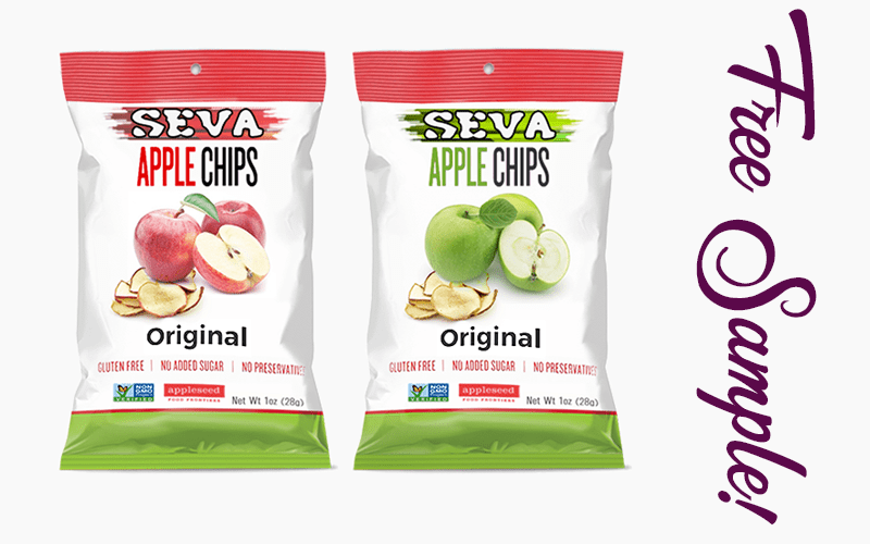 FREE Bag of SEVA Apple Chips~ NEW Snack.. Be the First to Try!!