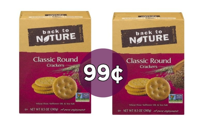 Back to Nature Crackers UNDER A BUCK!!